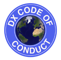 Click to visit DX Code of Conduct